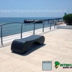 Panca Rivola, Design Studio associato Pecoraro, Abate, Brunazzi.