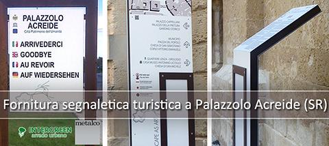 Fornitura Pannelli Informativi a Palazzolo Acreide (SR)