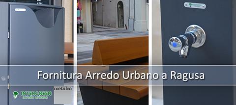 Fornitura di Arredo Urbano a Ragusa