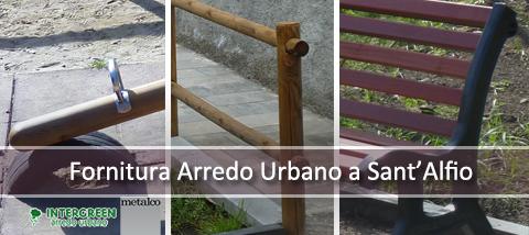 Fornitura di Arredo Urbano a Sant'Alfio
