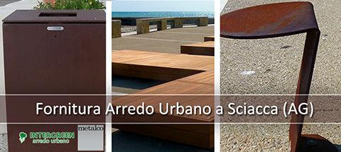 Fornitura di Arredo Urbano a Sciacca (AG)