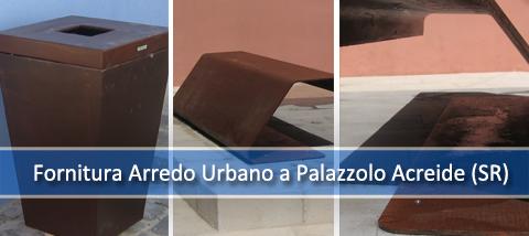 Fornitura di Arredo Urbano a Palazzolo Acreide (SR) – 2