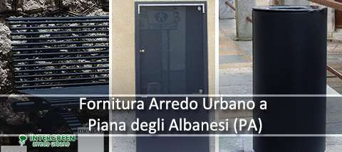 Fornitura di Arredo Urbano presso Piana degli Albanesi (PA)